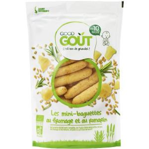 Mini Baguettes au Fromage et Romarin Bio Dès 10 Mois Good Gout