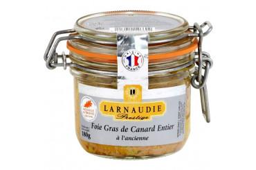 Foie Gras de Canard Entier à l'Ancienne Larnaudie Prestige