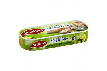 Filets de Maquereaux au Citron et à l'Olive Saupiquet