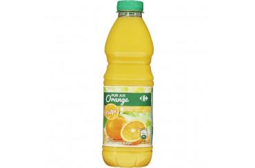 Pur Jus d'Orange avec Pulpe Carrefour