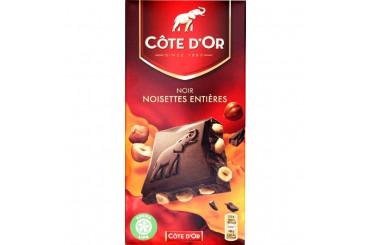 Chocolat Noir et Noisettes Entières Côte d'Or