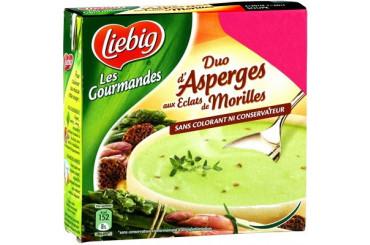 Duo d'Asperges aux Eclats de Morilles Liebig