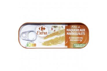 Filets de Maquereaux à l'Escabèche Carrefour