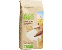 Farine de Blé Tradition T65 Bio Carrefour