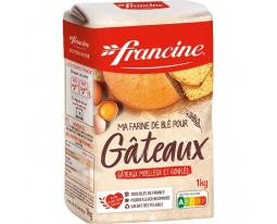 Farine de Blé Gâteaux avec Poudre à Lever Francine