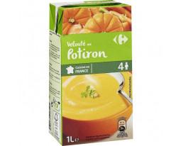 Velouté de Potiron Crème Fraîche Carrefour