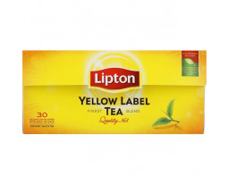 Thé Noir Yellow Label Lipton