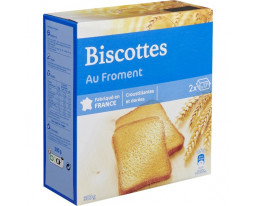 Biscottes au Froment Grand Jury