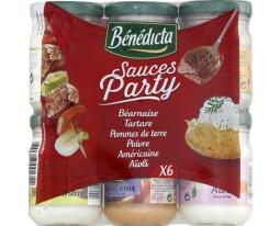 6 Sauces Classic Mix Bénédicta