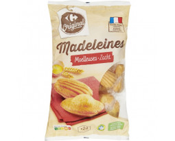 Madeleines Coquilles aux Oeufs Frais Pocket Carrefour