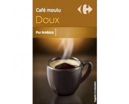 Café Moulu Doux Pur Arabica Carrefour