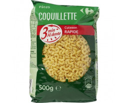 Coquillettes Cuisson 3mns Carrefour