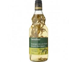 Vinaigre de Vin Blanc Estragon 6% Acidité Carrefour