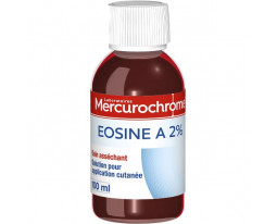 Solution d'Eosine à 2% Mercurochrome