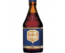Bière Pères Trappistes Brune 9% Vol. Chimay Bleue
