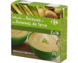 Velouté de Poireaux et Pomme de Terre Carrefour