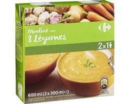 Mouliné aux 8 Légumes Carrefour