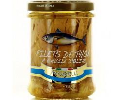Filets de Thon Jaune Albacore à l'Huile d'Olive Pimentée Florelli