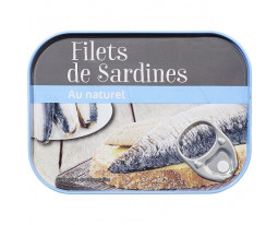 Filets de Sardines au Naturel Grand Jury