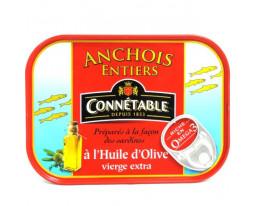 Anchois Entiers à l'Huile d'Olive Connétable