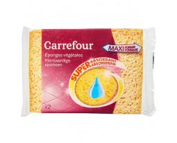 Eponges Végétales Moyennes Carrefour