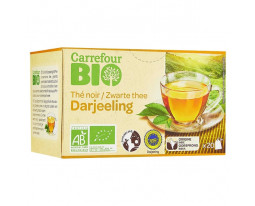 Thé Noir Darjeeling Bio Carrefour