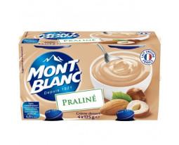 Crème Dessert Praliné Mont Blanc