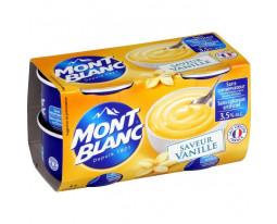 Crème Dessert Vanille Mont Blanc