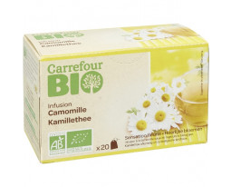 Infusion Camomille Bio Carrefour