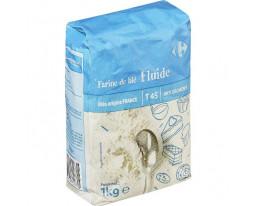Farine de Blé Fluide Anti Grumeaux T45 Carrefour