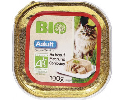 Terrine pour Chat au Boeuf Bio Grand Jury