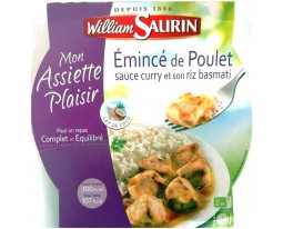 Curry au Poulet et son Riz Basmati William Saurin