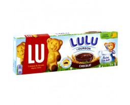 Biscuits Fourrés au Chocolat Lulu L'Ourson Lu