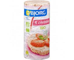 Galettes aux 4 Céréales Complètes Bio Bjorg