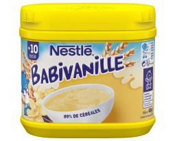 Céréales Vanille Dès 10 Mois Babivanille Nestlé