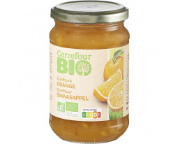 Confiture d'Orange au Sucre de Canne Bio Carrefour