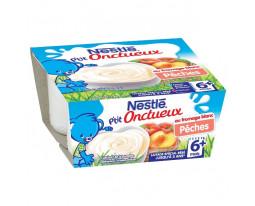 Fromage Blanc Pêche Petit Onctueux Dès 6 Mois Nestlé