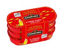 Petites Sardines à l'Huile d'Olive Connétable
