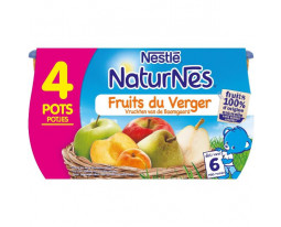 Compote Fruits du Verger Dès 6 Mois Nestlé