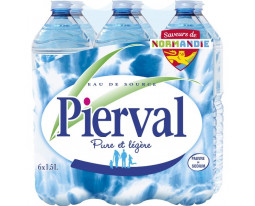 Eau de Source Naturelle Pierval