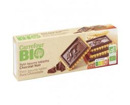 Petit Beurre au Chocolat Noir Bio Carrefour