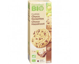 Cookies Chocolat Noisettes Bio Carrefour