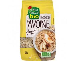 Céréales Flocons d'Avoine Complets Nature Bio Terres et Céréales