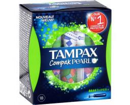 Tampons Compak Pearl Super Plus Tampax