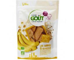Biscuits Carrés Banane Bio Dès 8 Mois Good Gout