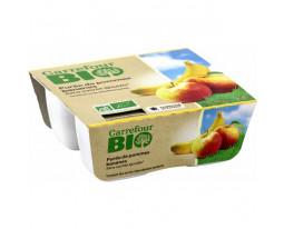 Compote de Pomme et Banane Sans Sucres Ajoutés Bio Carrefour
