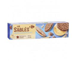 Sablés Nappés au Chocolat au Lait Pocket Carrefour