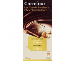 Chocolat Noir Fourrage Praliné Carrefour