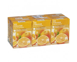 Jus d'Orange Teneur en Fruits 100% Grand Jury