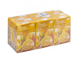 Jus d'Orange Teneur en Fruits 100% Carrefour